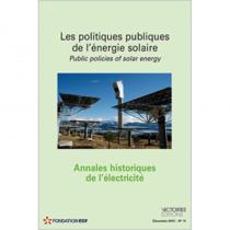 Les politiques publiques de l'énergie solaire Annales historiques de l'électricité n°11
