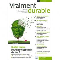 Quelles valeurs pour le développement durable ? Vraiment durable n°4