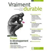 Penser le développement durable - Vraiment durable n°1