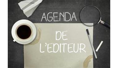 Agenda de l'éditeur